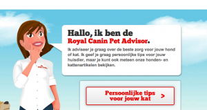 Tone of voice Royal Canin